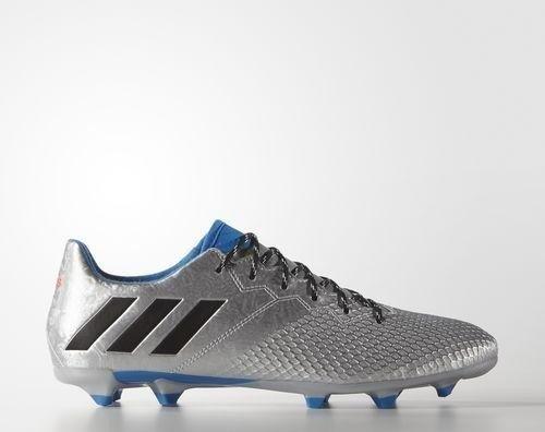 6dd29dd31616c4 adidas Messi 16.3 FG silver met core black shock blue (Herren) (