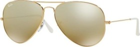 Ray-Ban RB3025 Aviator Gradient 58mm gold/brown-silver mirror (001/3K)