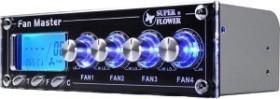 """Super Flower Fan Master SF-609, Lüftersteuerung 5.25"""" 4-Kanal"""