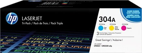 HP Toner 304A colour pack (CF372AM)