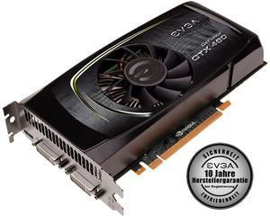EVGA GeForce GTX 460 Superclocked, 1GB GDDR5, 2x DVI, mini HDMI (01G-P3-1372)