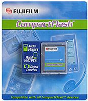 Fujifilm CompactFlash Card (CF) High Performance 1GB (42120012/42120033)