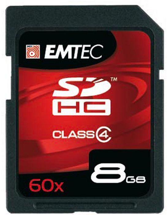 Emtec R7/W9 SDHC 60x 8GB, Class 4 (EKMSD8GB60XHC)