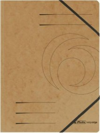Herlitz Eckspanner Colorspan A4, braun (11159662)