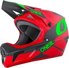 O'Neal Sonus Deft Fullface-Helm rot/grau/grün (0481-03)