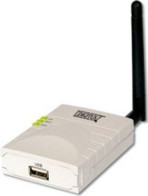Digitus DN-13014, Wireless Printserver, 54Mbps, USB 2.0