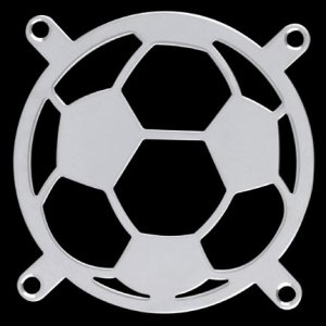 Lüftergitter/Fan Guard Soccer 80x80mm