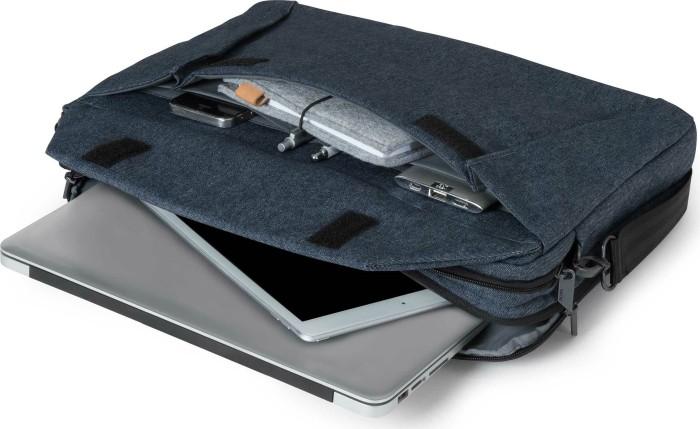 Dicota D31517 Slim Plus Edge Laptoptasche Blau Denim
