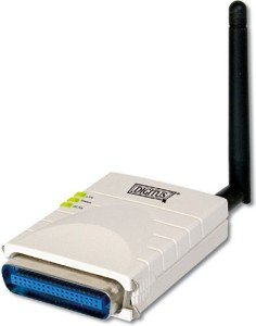 Digitus DN-13016, Wireless Printserver, 54Mbps, parallel