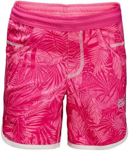 0a7931572c72 Jack Wolfskin Jungle Shorts Hose kurz hot pink all over (Junior) (1606691-