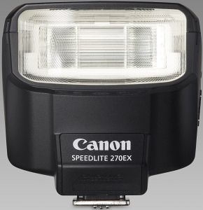 Canon Speedlite 270EX flash (3806B003)