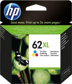 HP Druckkopf mit Tinte 62 XL dreifarbig (C2P07AE)