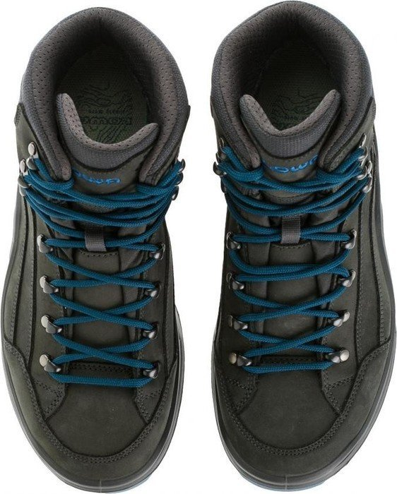 LOWA Renegade GTX Mid Outdoor Schuhe anthrazit jeans 41,5