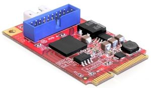 DeLOCK 1x USB 3.0, PCIe Mini Card (95927)