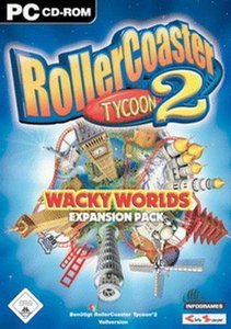 RollerCoaster Tycoon 2 - Wacky Worlds (Add-on) (niemiecki) (PC)