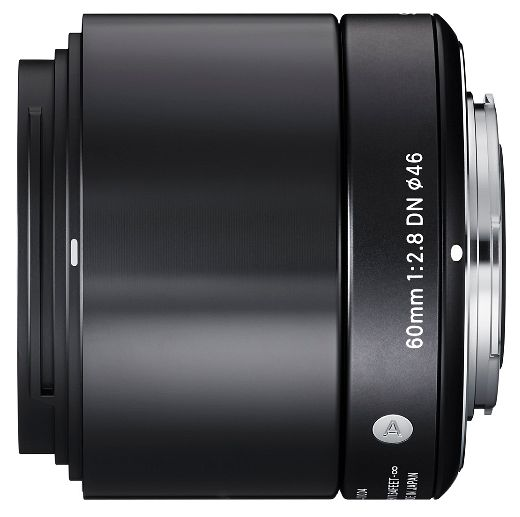 Sigma lens Art AF 60mm 2.8 DN black for micro Four Thirds (350963)