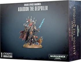Games Workshop Warhammer 40.000 - Chaos Space Marines - Abaddon the Despoiler (99120102101)