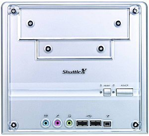 Shuttle XPC SN45G mini-Barebone aluminum (Socket A/200/dual PC3200 DDR)