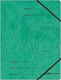 Herlitz Eckspanner Colorspan A4, grün (972471)