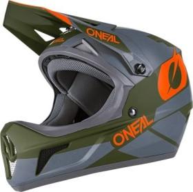 O'Neal Sonus Deft Fullface-Helm grau/oliv/orange (0481-02)