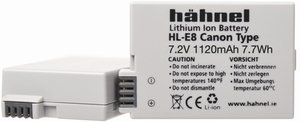 Hähnel HL-E8 Li-Ion battery (1000 177.6)