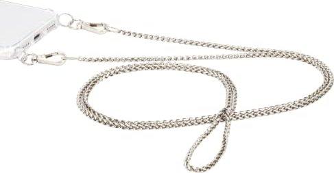 Hama Cross-Body-Band Rundkette Metall silber (172316) -- via Amazon Partnerprogramm