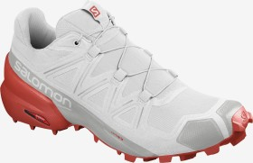 Salomon Speedcross 5 white/cherry tomato(Herren) (409684)