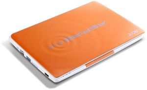 Acer Aspire One Happy 2 orange, Atom N455, non-glare, Bluetooth, UK (LU.SG10D.105)