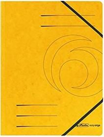 Herlitz Eckspanner Colorspan A4, gelb (11387164)