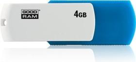 goodram UCO2 ColorMix 4GB blau/weiß, USB-A 2.0 (UCO2-0040MXR11)