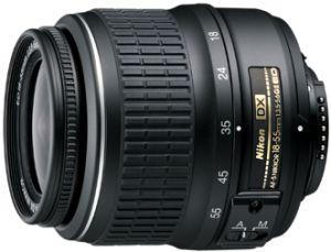 Nikon AF-S DX 18-55mm 3.5-5.6G ED II black (JAA797DB)