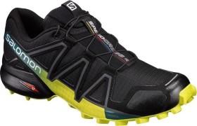 Salomon Speedcross 4 black/everglade/sulphur spring (Herren) (392398)