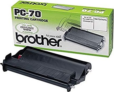 Brother PC-70 folia termotransferowa -- via Amazon Partnerprogramm