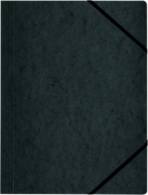 Herlitz Eckspanner Colorspan A4, schwarz (11159688)