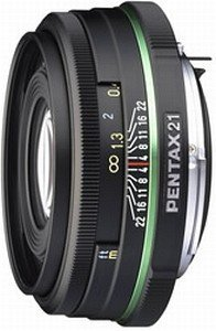 Pentax lens smc DA 21mm 3.2 AL Limited (21590)