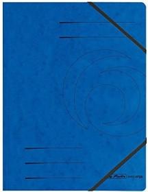 Herlitz Eckspanner Colorspan A4, blau (11387180)