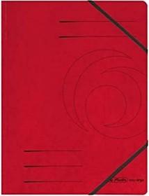 Herlitz Eckspanner Colorspan A4, rot (11387172)