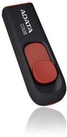 ADATA Classic Series C008 schwarz 8GB, USB-A 2.0 (AC008-8G-RKD)