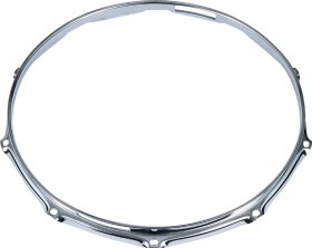 Tama 2.3mm Steel Mighty Hoop 10 Hole Snare Side (MFM14S-10)