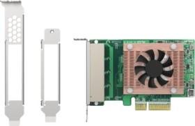 QNAP QXG-2G4T-I225, 4x RJ-45, PCIe 2.0 x4