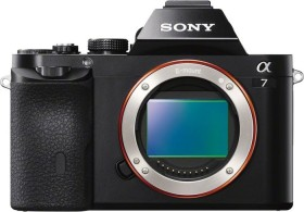 Sony Alpha 7 schwarz Body (ILCE-7)