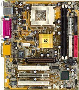Gigabyte GA-6IEML, i815E/B, LAN, µATX