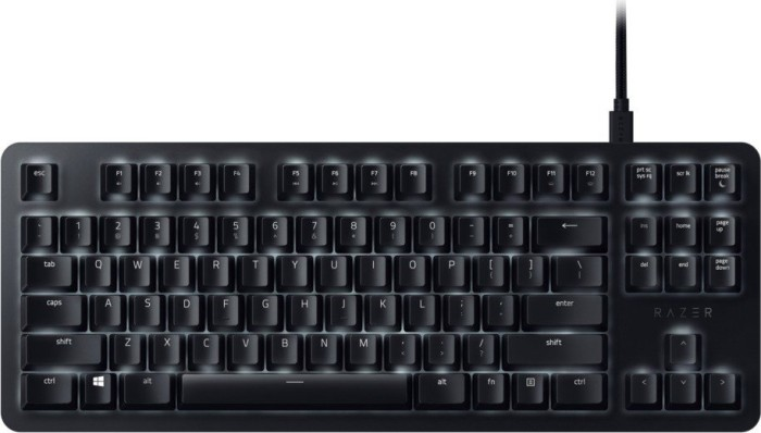 Razer BlackWidow Lite, Razer ORANGE, USB, UK (RZ03-02640300-R3W1)