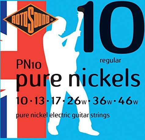 Rotosound Pure Nickels Regular (PN10)