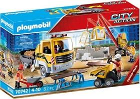 playmobil City Action - Baustelle mit Kipplaster (70742)