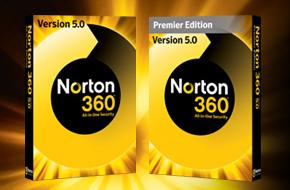 Symantec: Norton 360 5.0, Update, 3 User (German) (PC) (21162603)