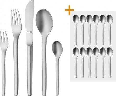 wmf evoque cutlery set 66 piece 12 espresso spoons starting from. Black Bedroom Furniture Sets. Home Design Ideas