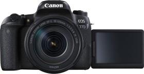 Canon EOS 77D schwarz mit Objektiv EF-S 18-135mm 3.5-5.6 IS USM (1892C004)