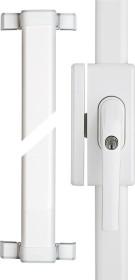 ABUS FOS650 W AL0089 white, window-bar lock (73002)