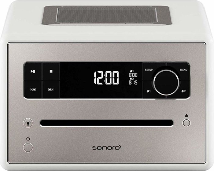 Sonoro Qubo white (SO-2200-200-WH)